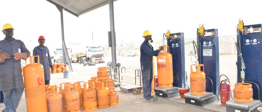 cooking gas distribution business