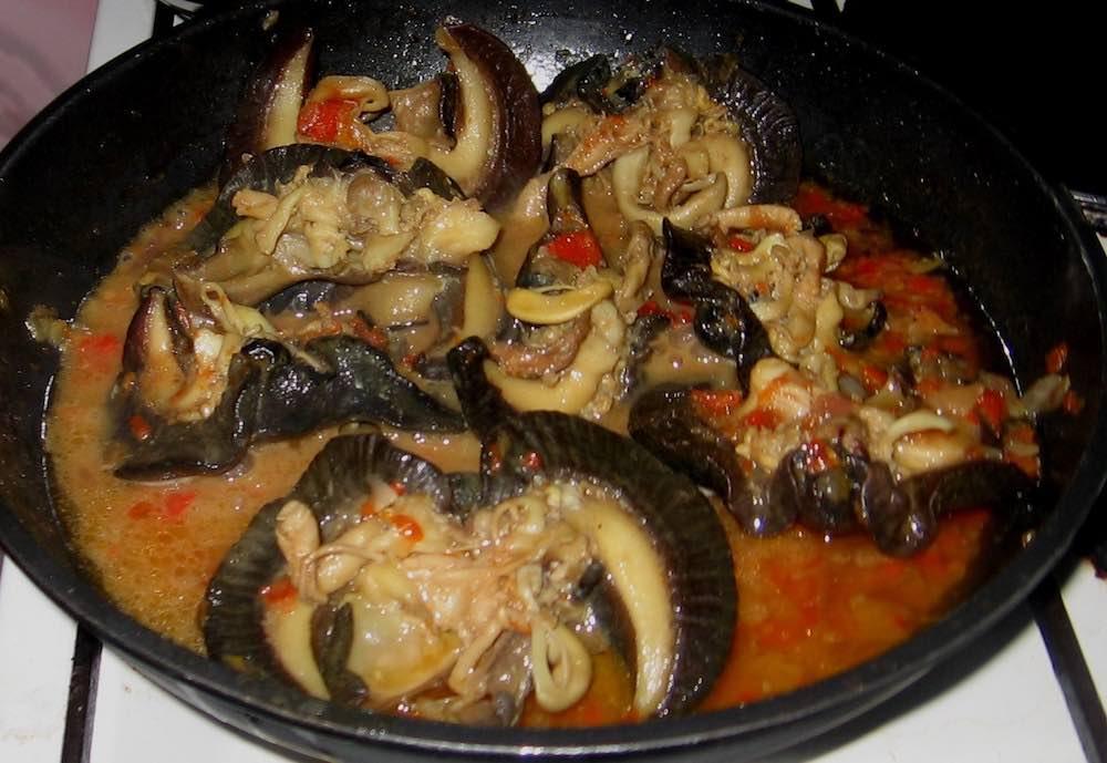Snail stew