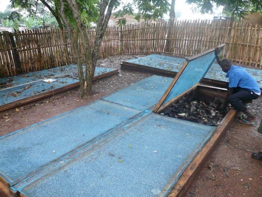 A snail farm in Nigeria. (Nairaland)