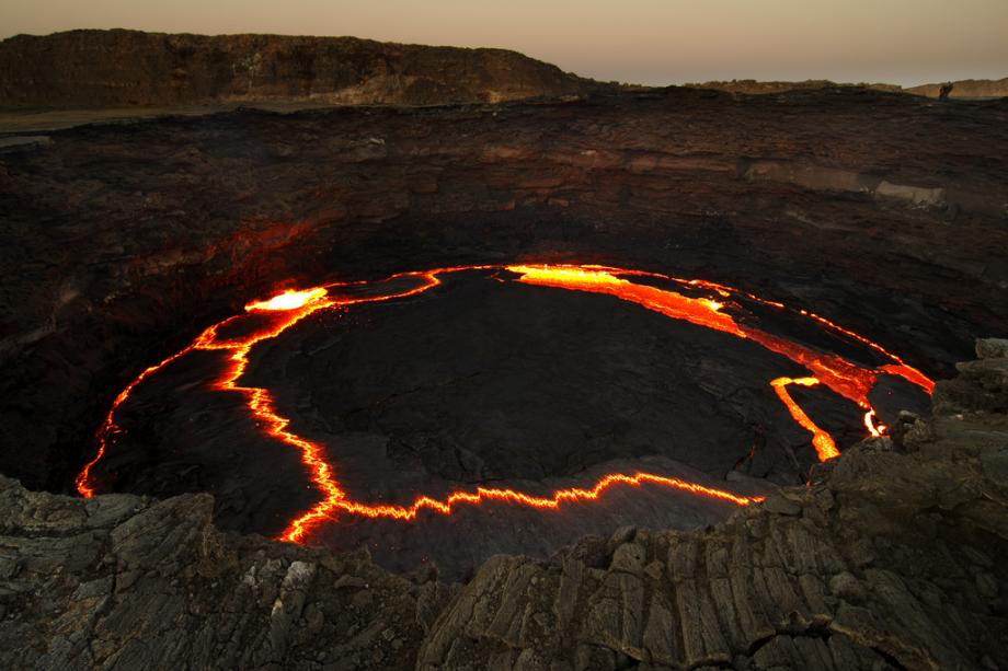 THE MOST ACTIVE VOLCANOES ON EARTH